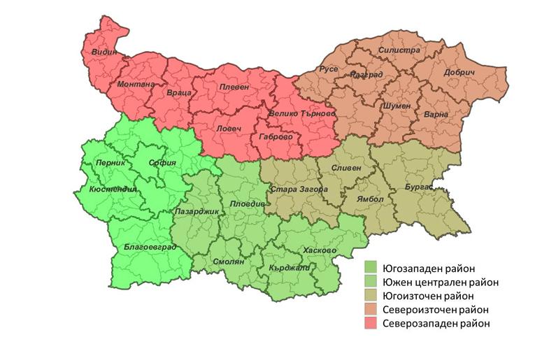 mapa-regiones-bulgaria