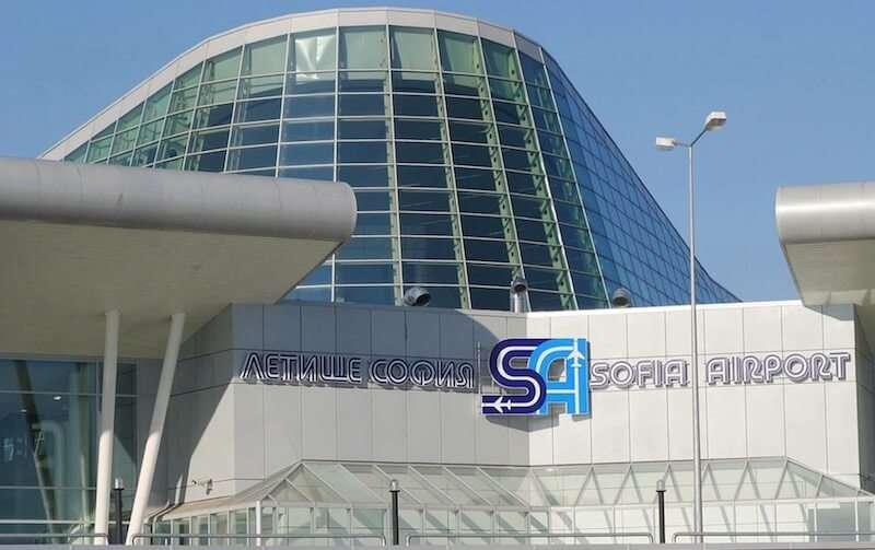 Aeropuerto de Sofia, Bulgaria