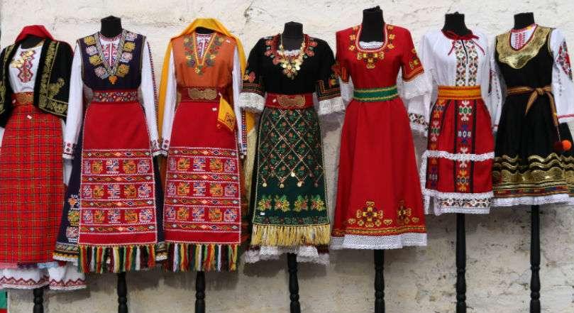 Trajes tradicionales de Bulgaria