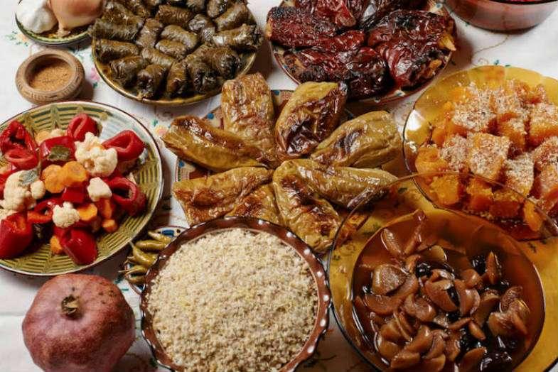 comida-navidad-bulgaria